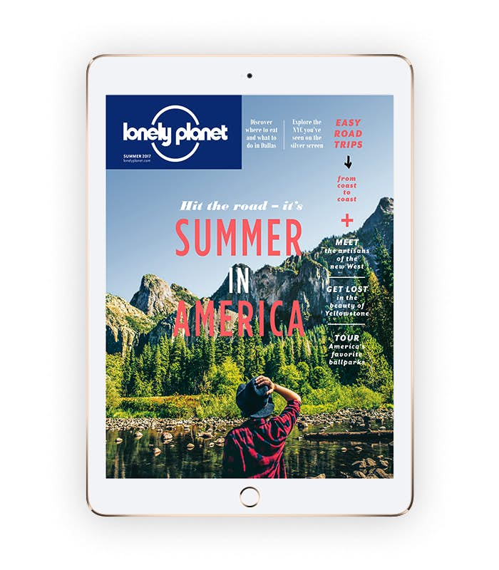 Lonely Planet magazine – digital edition