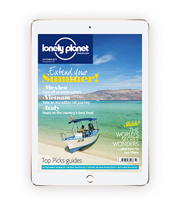 Lonely Planet magazine - digital edition