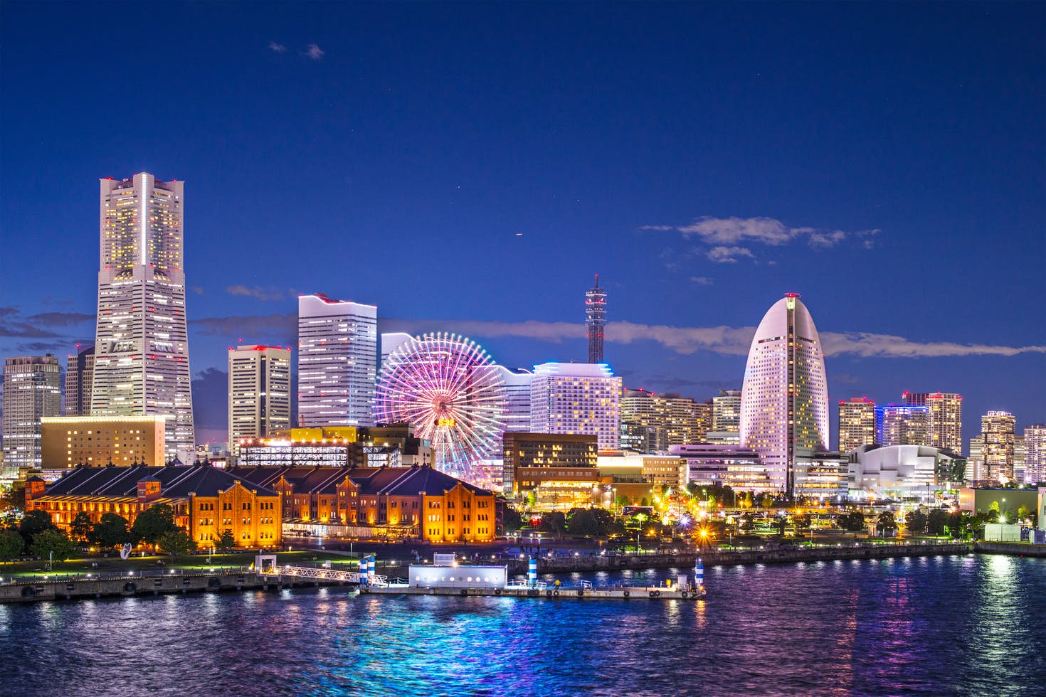 Venture south from japan s capital to see the likes of arty yokohama seanpavonephoto getty