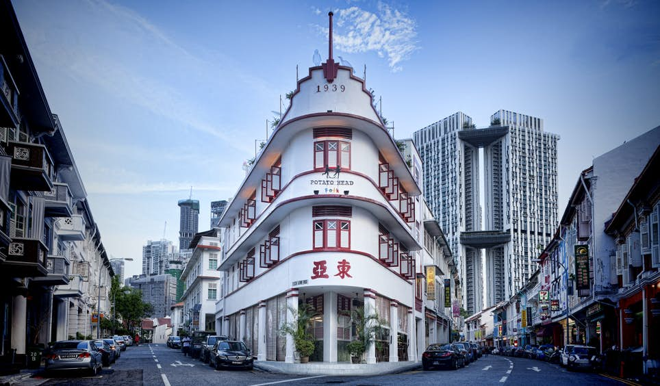 Hip hangouts like Potato Head have transformed Keong Saik Road © Potato Head Family