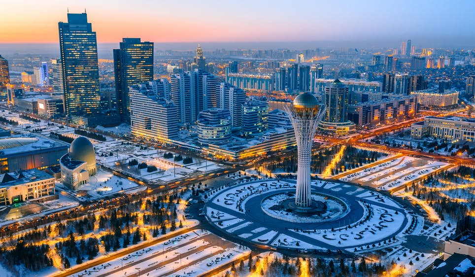 Astana offers an aerial view like no other city on Earth © evgenykz / Shutterstock