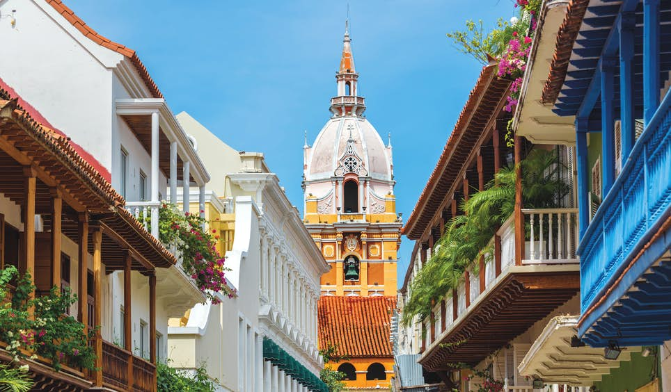 Cartagena, a city on Colombia's Caribbean coast, is a treasure trove of colonial architecture © DC_Colombia / Getty Images