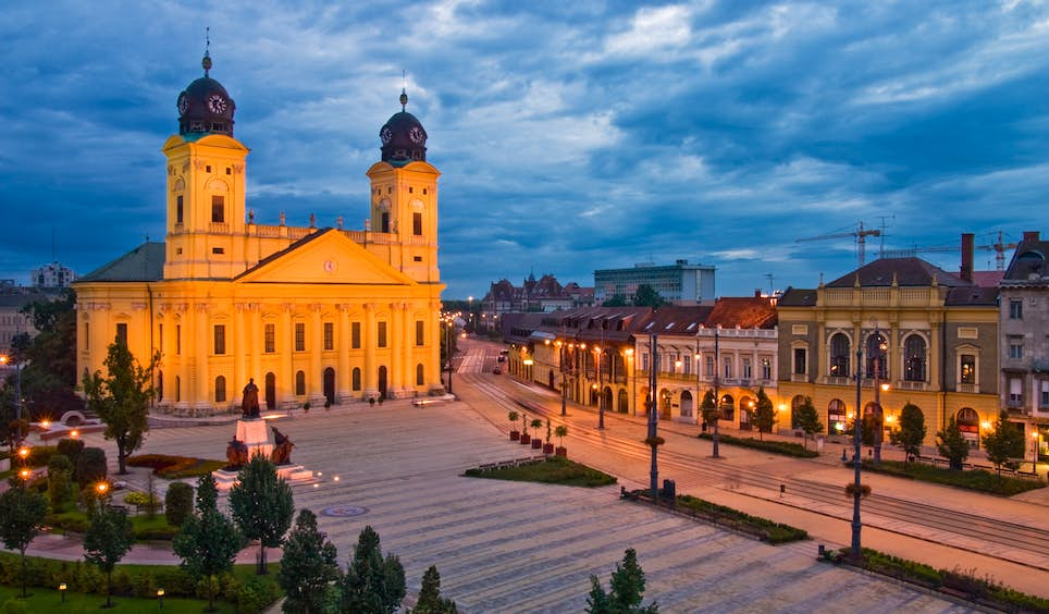 As well as a rich history, Debrecen has a growing modern-art scene and a tempting roster of festivals @ AndreyGatash / Getty Images