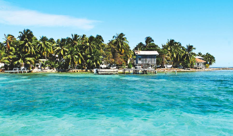 Exploring tiny tropical islands such as Tobacco Caye is one of the chief pleasures of a visit to Belize © Mark Read / Lonely Planet