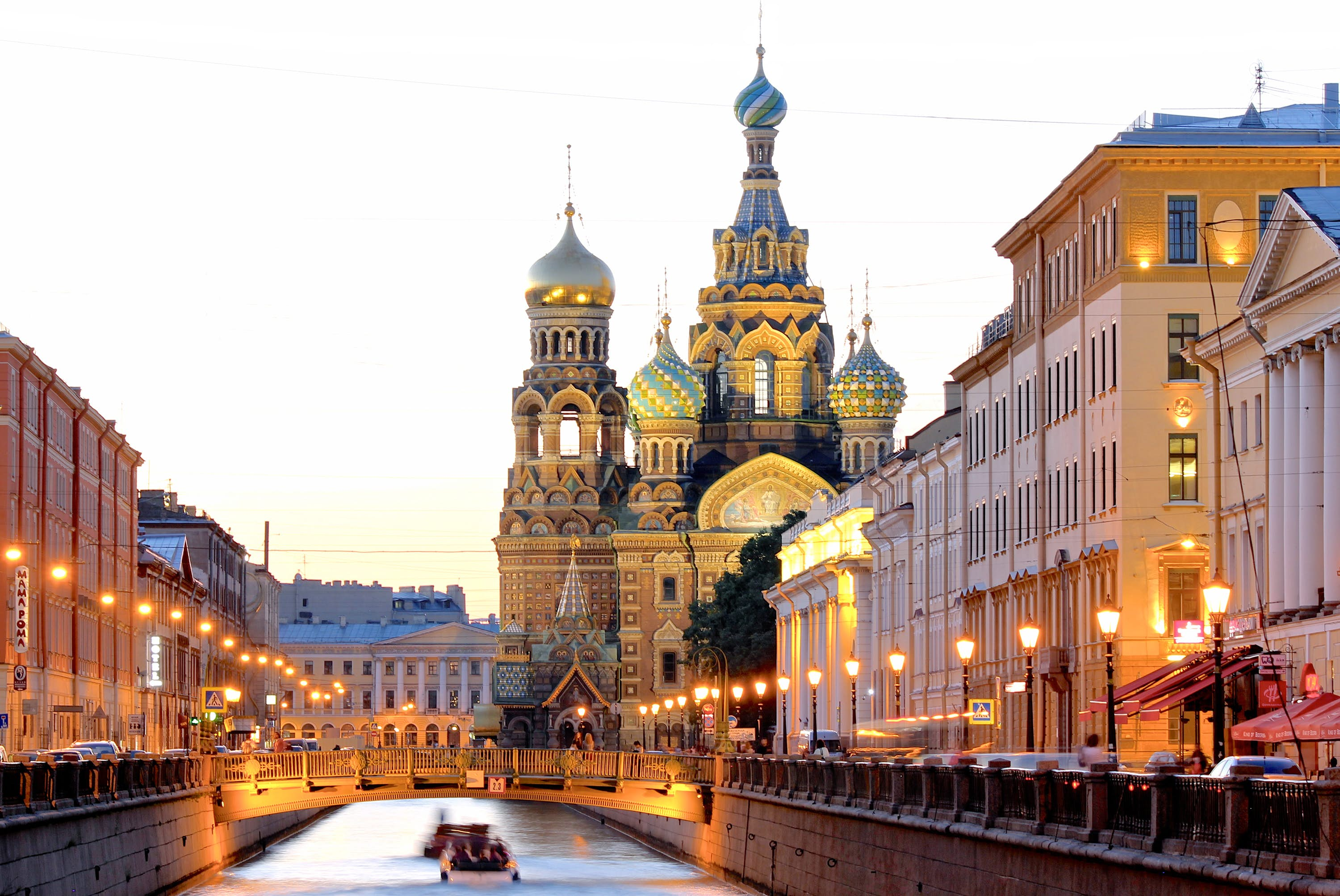 The splendour of St Petersburg's canals and churches testifies to its past as a seat of empire © Rickson Liebano / Getty Images