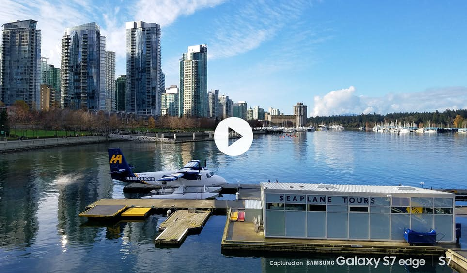Seaplane in harbour, Vancouver BC, Canada © Mike Johansen / Captured on Samsung Galaxy S7 / S7 edge