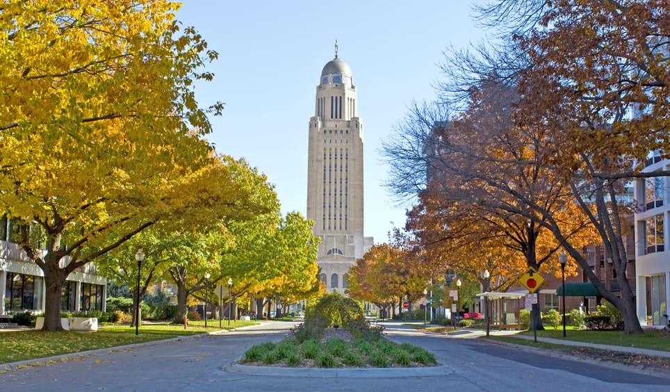 Celebrate Nebraska's 150th birthday in Lincoln, the state capital © Katherine Welles / Shutterstock