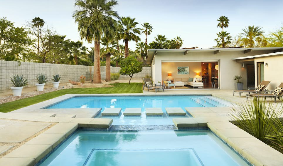 Palm Springs' sleek architecture and design is best experienced during Modernism Week  © Trinette Reed / Getty Images