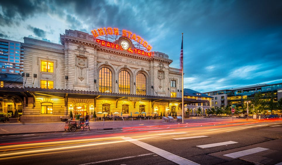 Union Station will soon be whisking skiers from Denver direct to Winter Park  © Arina P Habich / Shutterstock.com