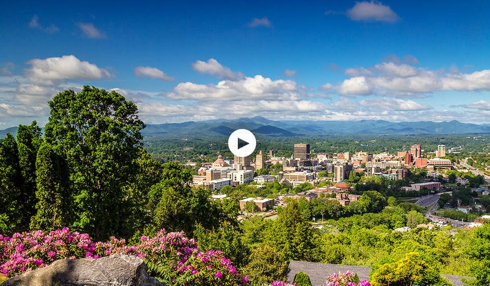 Asheville may be small, but it certainly packs a punch © Jared Kay / ExploreAsheville.com