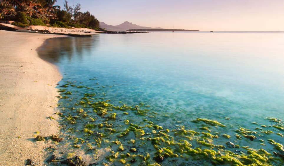 A typically breathtaking beach scene in Mauritius; the island nation celebrates 50 years of independence from the UK this year © Claire Willans / 500px