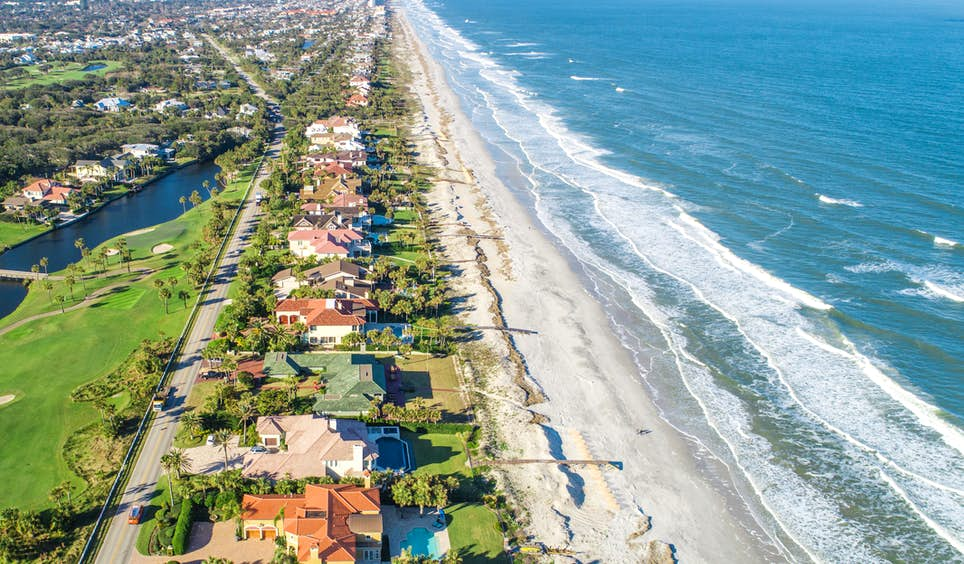 With fine beaches like Ponte Vedra just a few miles from downtown, Jacksonville is an affordable gateway to Florida's ever-popular coast © TraceRouda / iStockphoto / Getty Images