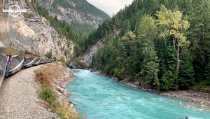 Sustainable Train Journey: Rocky Mountaineer