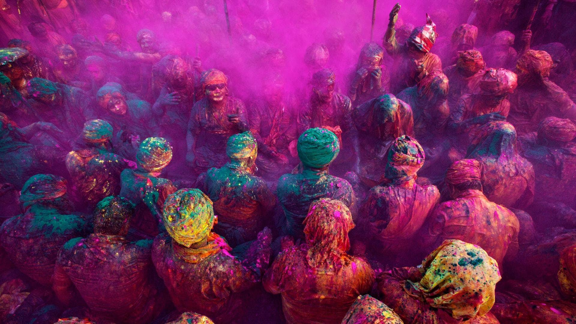 Holi Photo: India's Colourful Holi Festival