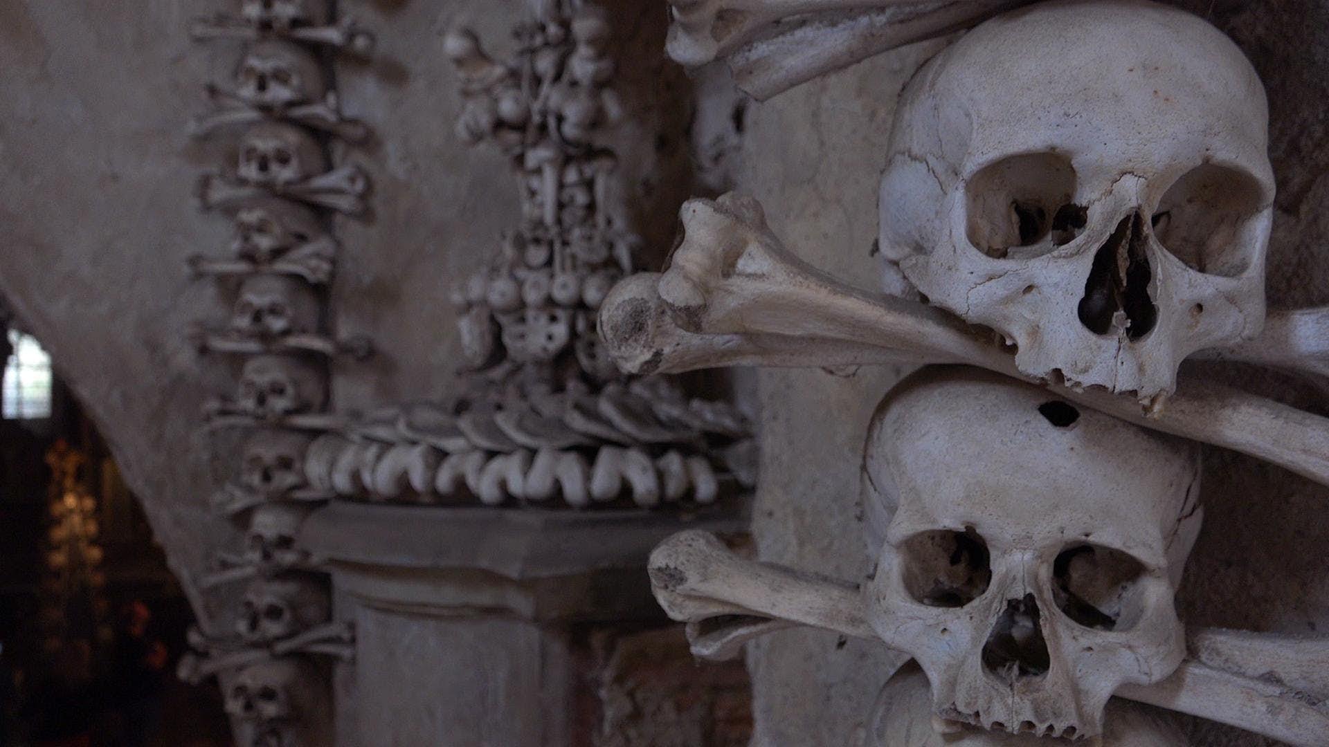 The bone church of the Czech Republic